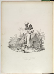 'Negro mode of Nursing', plate from Richard Bridgens' 'West India Scenery', 1836